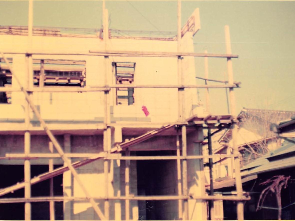 昭和47年5月5日 海徳寺本堂建設