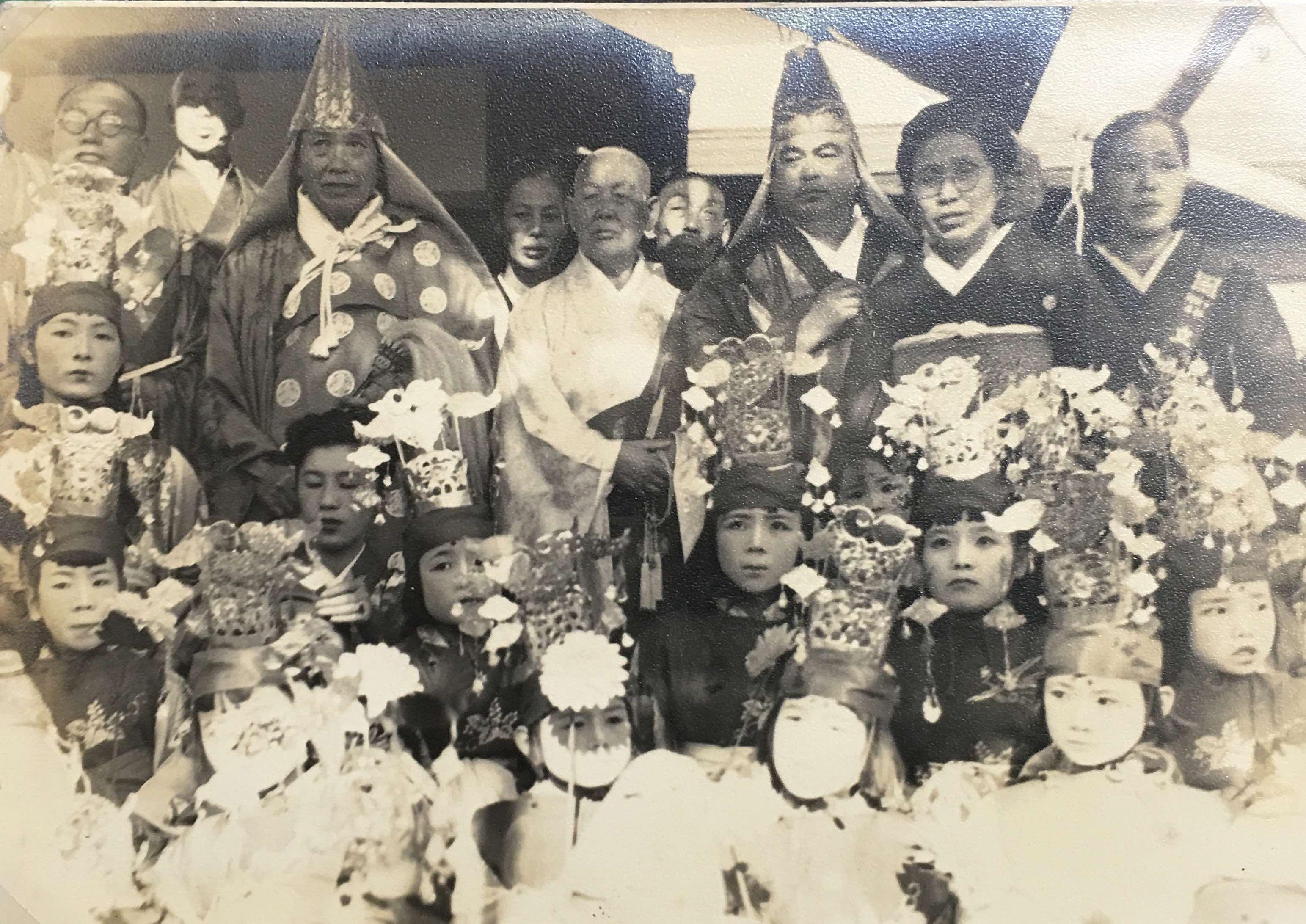 昭和27年11月2日 海徳寺 開堂式