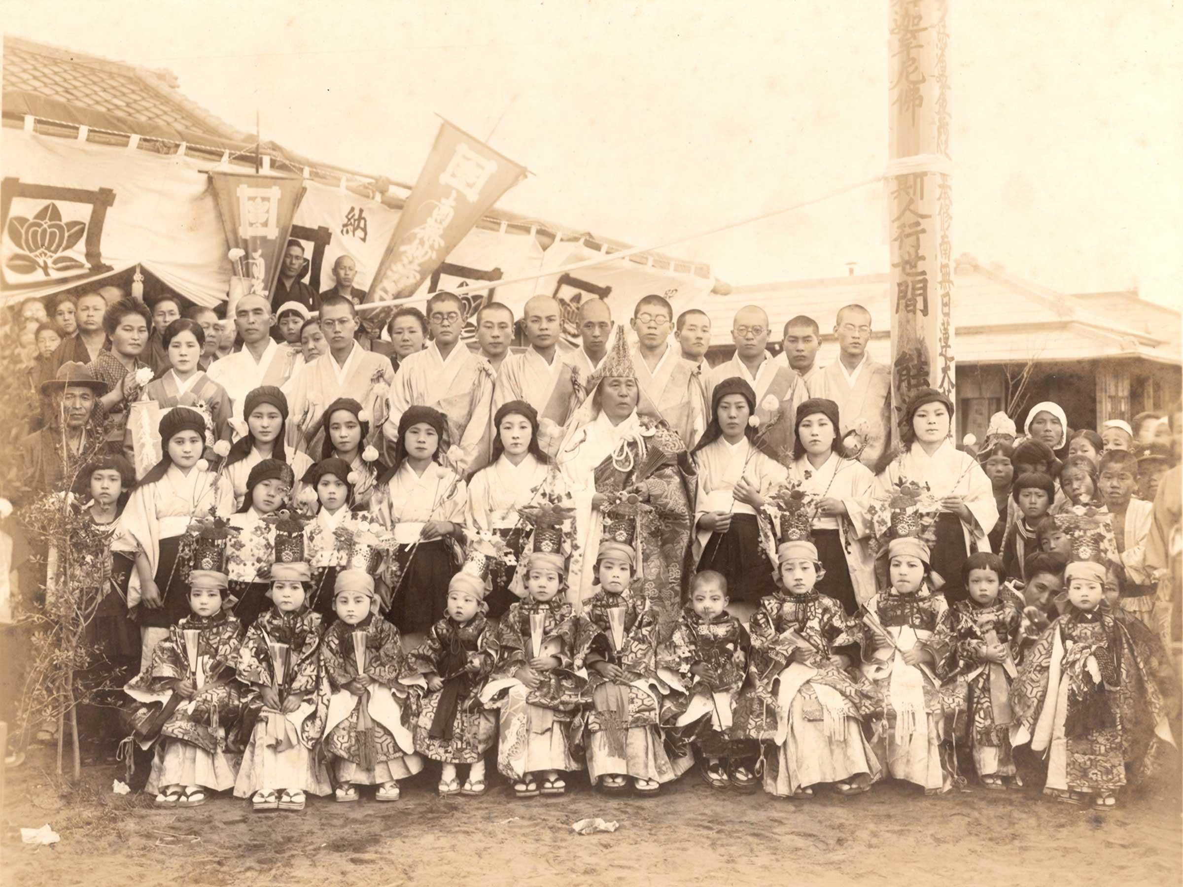 昭和8年10月22日-海徳寺開堂供養