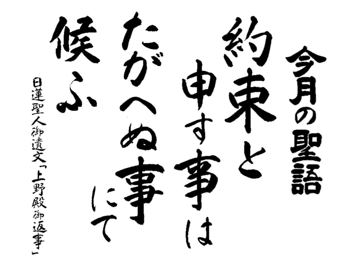 平成31年2月報恩道語
