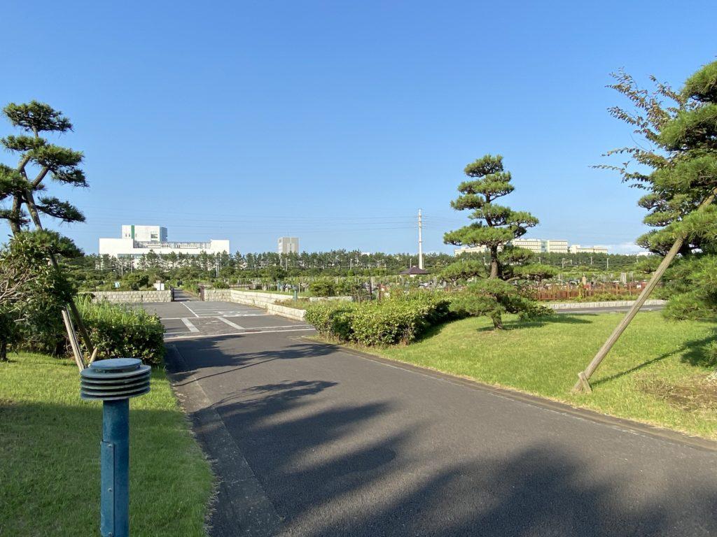 海浜霊園での法事